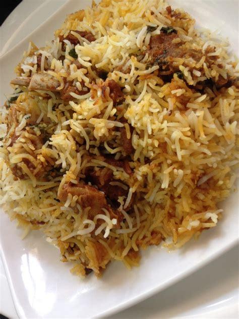 Kitchens Of India Hyderabadi Biryani by Mutton Biryani Recipe Indian Kitchen