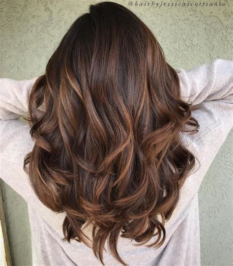 Hair Colour Brown by Light Brown Balayage For Thick Hair Hair And