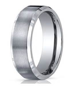 titanium wedding rings for mens titanium wedding band satin finish