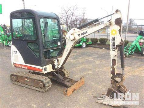 bobcat  mini excavator  sale  hours lexington ky