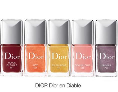 dior dior en diable nail polish sonailicious