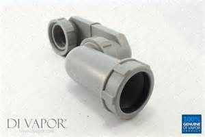 Sink Trap Types by 40mm Low Profile Shower Waste Pipe With Inline Anti Smell