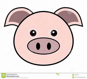 Cute Pig Vector Stock Image - Image: 14691321
