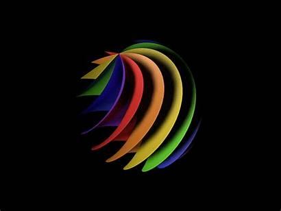 Rainbow C4d Spirals Gifs Colours Giphy Gannon