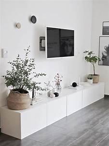 Ikea Besta Wohnzimmer Ideen : ikea besta sideboard viel stauraum flachbildschirm blumen im wohnzimmer wohnzimmer ~ Orissabook.com Haus und Dekorationen