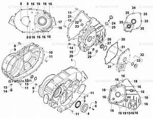 Arctic Cat Atv 2015 Oem Parts Diagram For Clutch  Drive