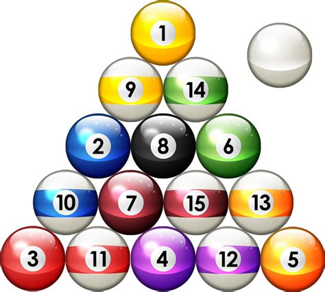 how to rack pool balls pool pictures cliparts co