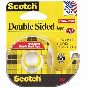 Scotch Double Face : scotch double sided tape 12mm x roll 11 metres ~ Melissatoandfro.com Idées de Décoration