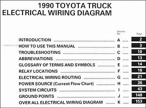 199toyota Pickup Truck Wiring Diagram Manual Original