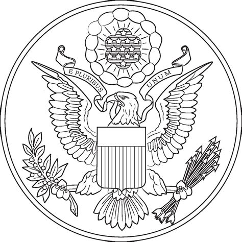 Free Coloring Pages Of Texas Seal