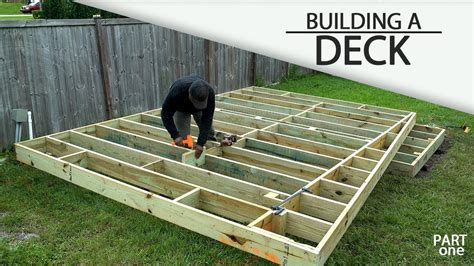 Basic Deck Framing