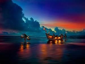 Image Gallery nighttime lights beaches beautiful