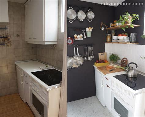 diy small kitchen makeover c 243 mo ordenar una cocina peque 241 a para aprovechar el espacio 6890