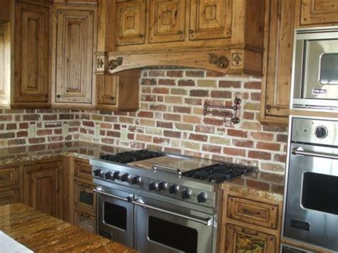 kitchen with brick backsplash 1000 images about backsplashes and countertops on 6498