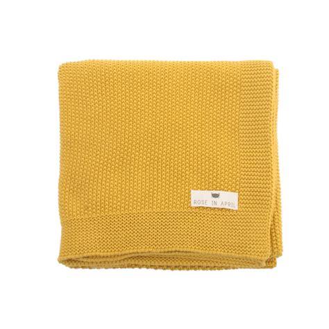 plaid jaune moutarde