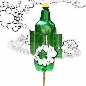 Moulin A Vent Enfant : moulin vent fait avec une bouteille en plastique enfants wind ~ Melissatoandfro.com Idées de Décoration