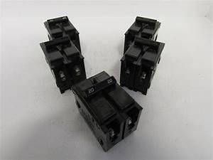 Lot Of 5 Challenger C220 2 Pole 20 Amp 240 Volt Circuit