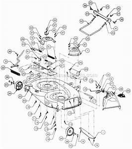 Cub Cadet Mower Deck Parts Diagram Model 301  U2022 Downloaddescargar Com