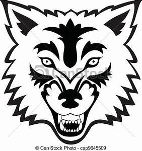 Tatouage Loup Graphique : vecteurs eps de tatouage loup figure vecteur ~ Mglfilm.com Idées de Décoration