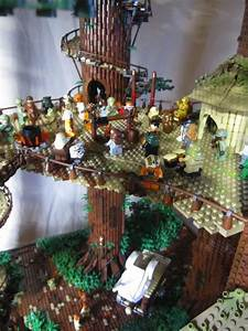 RETURN OF THE JEDI Comes To Life In This Massive LEGO Ewok