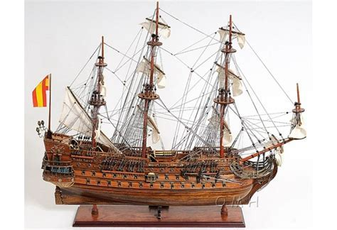 1690 San Felipe Wooden Tall Ship