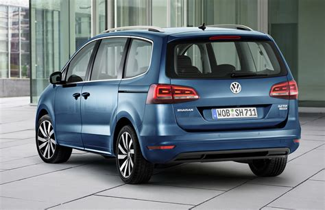 vw sharan images vw sharan gets new engines and equipment discreet styling