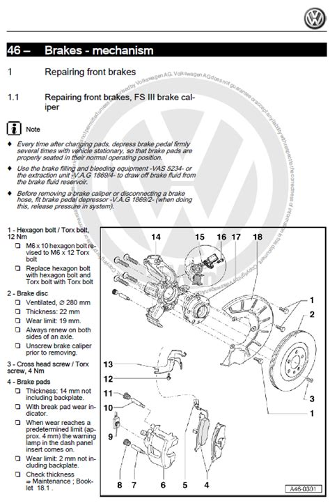 volkswagen golf  iv   factory repair manual