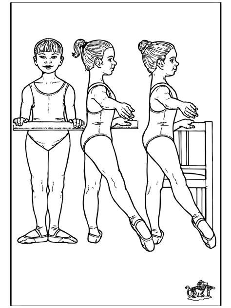 Ballet Kleurplaat by Ballet 12 Kleurplaat Ballet