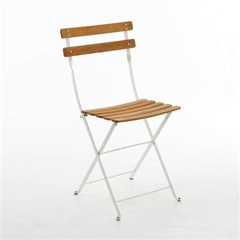 Fermob Bistro High Chair by Bistro Naturel Folding Chair Fermob Ambientedirect