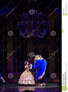 Beauty And The Beast During Golden Mickey Show In Hong ...