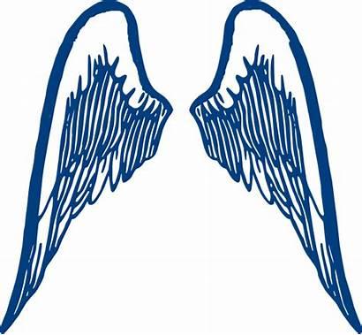 Wings Clip Clipart Clker Vector Hi