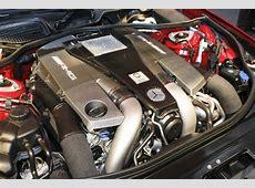 AMG 55liter V8 biturbo engine Cartype