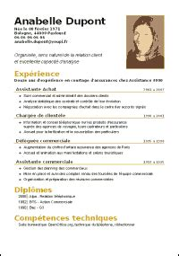 Modèle Cv Mise En Page by Open Office Max R 233 Ussir Ses Documents Avec Openoffice