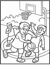 Coloring Sports Pages Printable Print sketch template