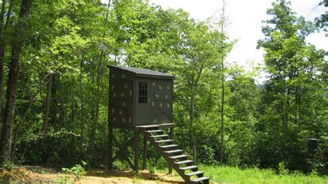 educational concepts home deer blind shooting house plans