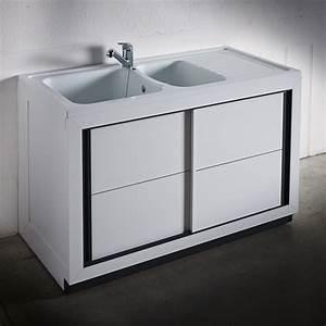 meuble evier salle de bain ikea maison design bahbecom With meuble salle de bain pvc