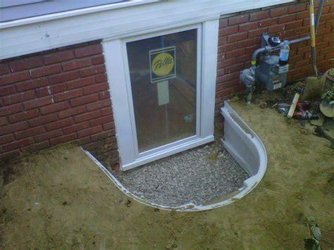 egress windows add  basement bedroom today