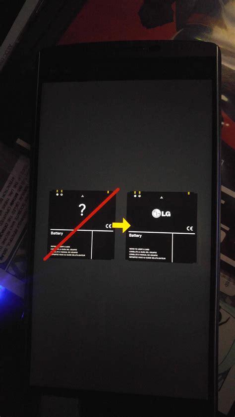 lg  invalid battery issue lg