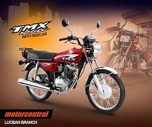 Honda Tmx 125 Alpha With Sidecar For