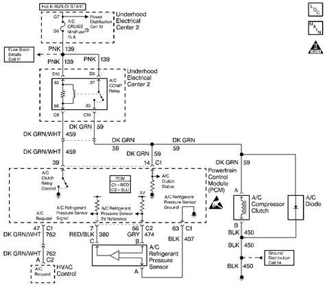 dtc p0530 air conditioning a c refrigerant pressure sensor circuit