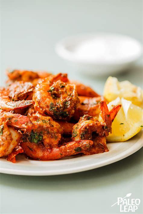 minute spicy shrimp paleo leap