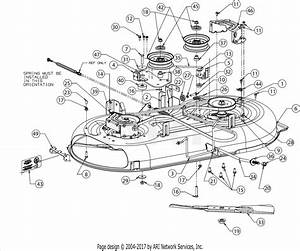 Troy Bilt 13am77ks011 Pony  2016  Parts Diagram For Deck