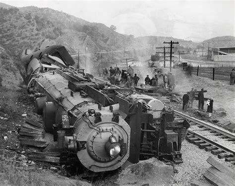 train saugus robbery california american scvhistory west buffalo 1929 workers woman enlarge sprr