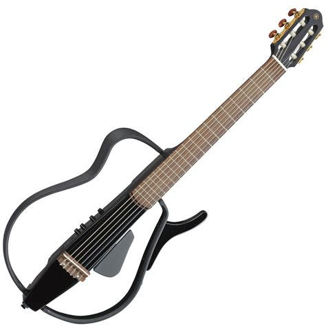 yamaha silent guitar disc yamaha slg110n silent guitar black metallic at