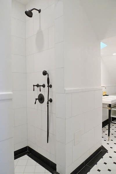 black  white bathroom contemporary bathroom