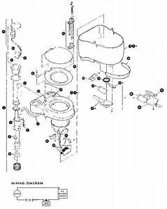 Monogram Sanitation Recirculating Flush Toilet Parts