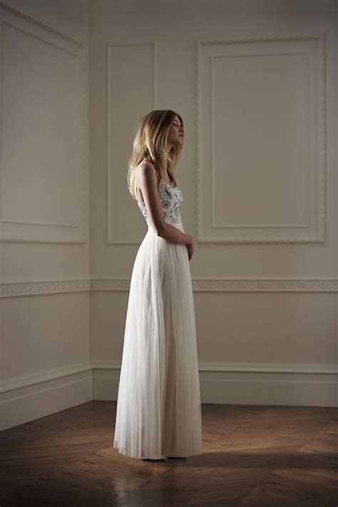 needle thread bridal wedding dresses debut collection