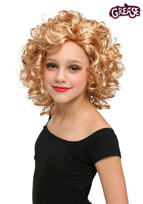 child bad sandy wig  grease