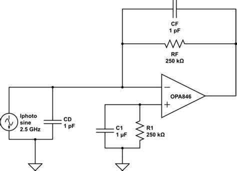 Photodiode Apd Transimpedance Amplifier Stability