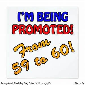 Funny 60th Birthday Gag Gifts Card | Zazzle.co.uk ...